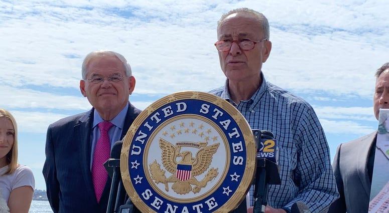 Chuck Schumer and Bob Menendez
