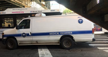 City Medical Examiner Van