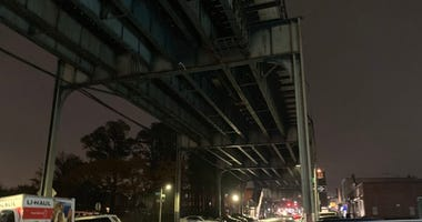 Elevated Subway Tracks