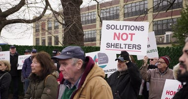 Queens Shelter Protest
