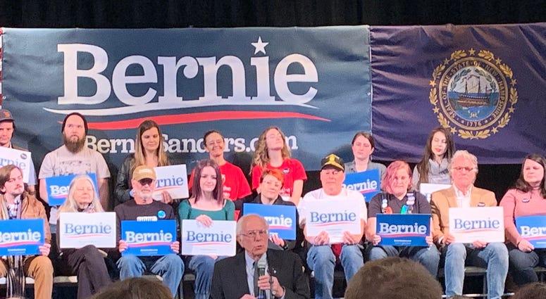 Bernie Sanders NH
