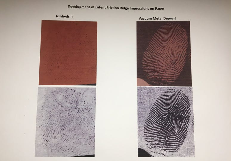 Westchester Police Fingerprint Machine