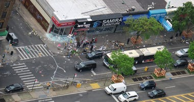 Damage in the Bronx after looting follows George Floyd protests