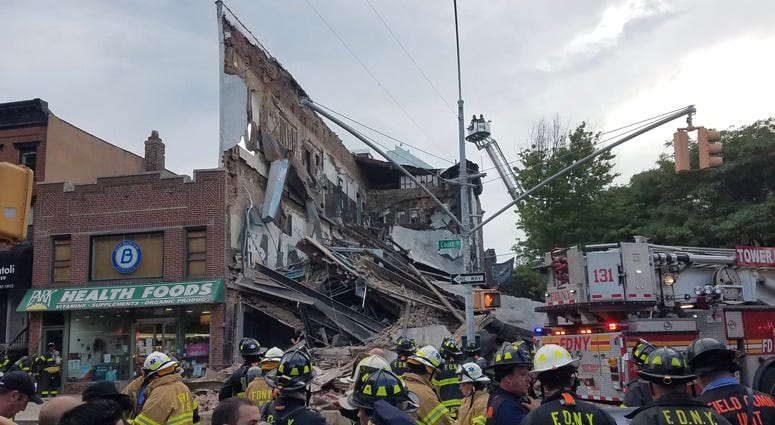 Brooklyn building collapse
