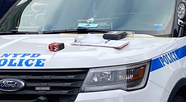 NYPD vehicle Bronx