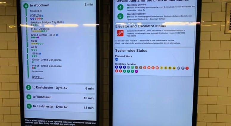 Service Change Screens