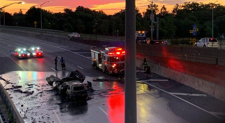 Bruckner Expressway Crash