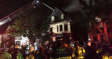 Brooklyn house fire