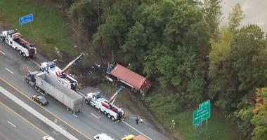 NY State Thruway Crash
