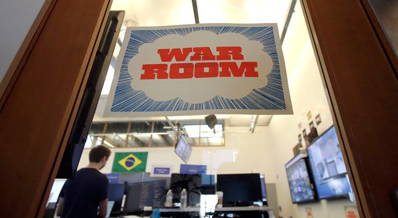 Facebook War Room