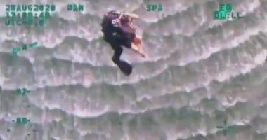 Woman rescued in Far Rockaway