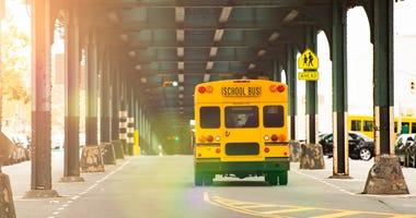 School bus Brooklyn