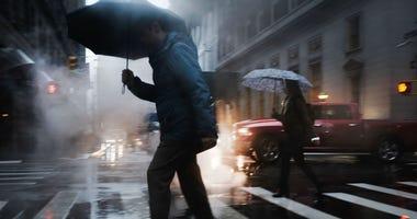 Heavy Rain NYC
