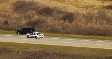 Aerial footage of where body found in Gilgo Beach murders case