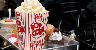 Drive-in movie snacks