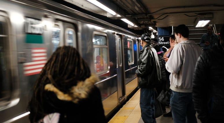 subway in Manhattan