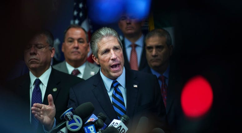 Pat Lynch, president of the NYC Police Benevolent Association