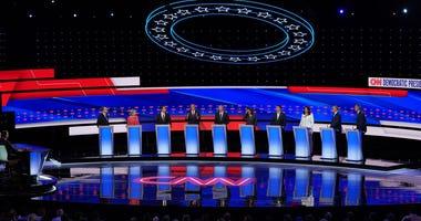 Bill de Blasio, Kirsten Gillibrand, Cory Booker among others at Democratic debate