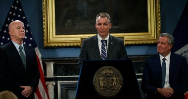 Bill de Blasio, James O'Neill, Dermot Shea