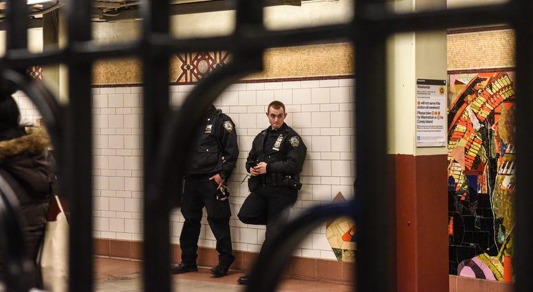 Subway police