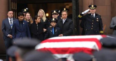 Detective Joseph Seals Funeral