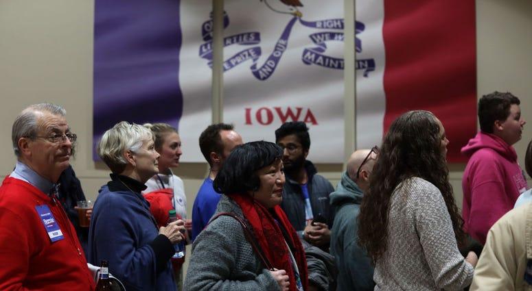 Sen. Bernie Sanders Hosts Watch Party On Night Of Iowa Caucus