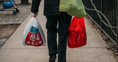 Plastic bag New York