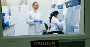 New Jersey coronavirus lab