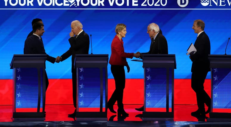 New Hampshire Democratic debate