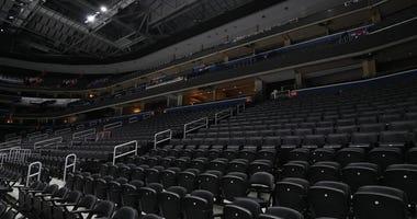 Empty Arena Coronavirus