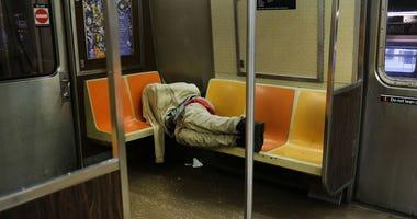 Subway homeless