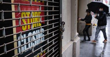 Coronavirus Economy - Stores Closed