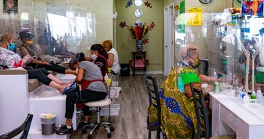 New York City nail salon
