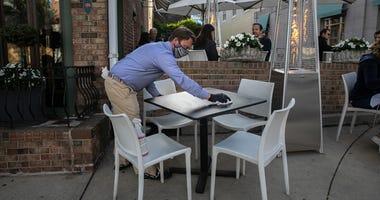 Outdoor dining Connecticut coronavirus