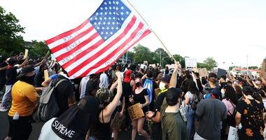Merrick Protest