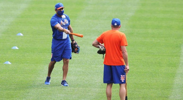 Mets training