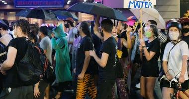 Times Square Black Lives Matter Protest