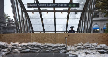 Superstorm Sandy Subway