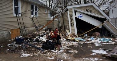Sandy Damage on Staten Island