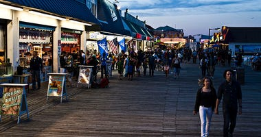 Boardwalk at Point Pleasant Beach