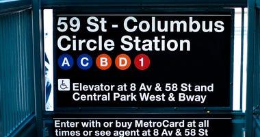 Columbus Circle subway station