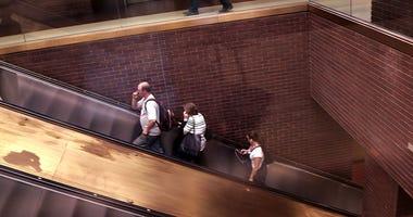 Port Authority Escalator