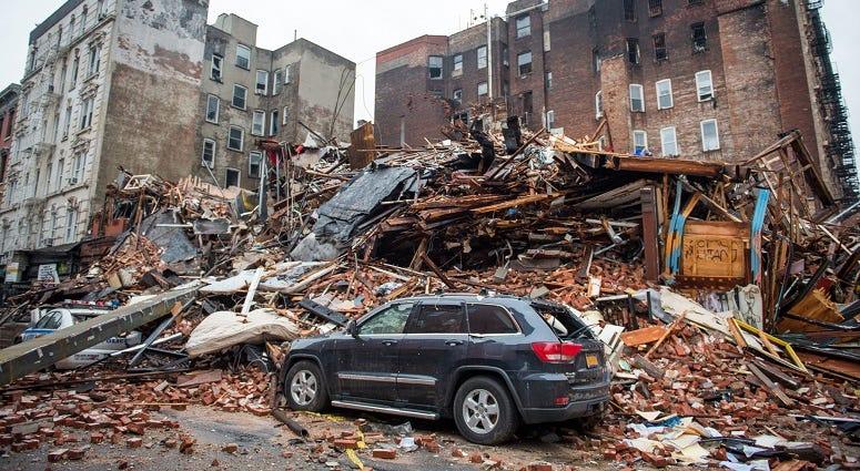 2015 East Village Explosion