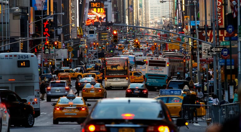 Manhattan traffic