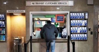 NJ Transit Ticket Booth