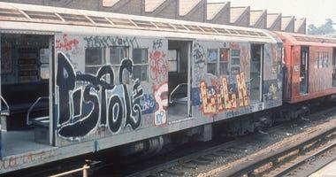 Graffiti Subway car