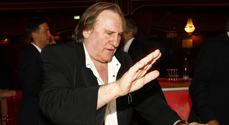 French actor Gerard Depardieu attends the Eagles Charity event night at the Europapark on May 2, 2016 in Rust, Germany.