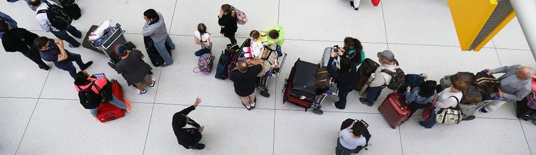 JFK Airport Security Line