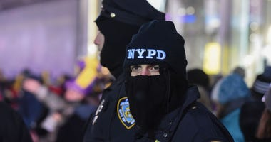 NYPD New Year's Eve Security
