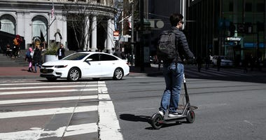 Electric scooter e-scooter
